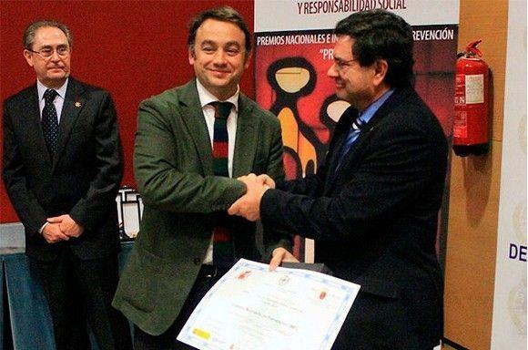 Carlos Martinez recoge el Premio Prever 2013 otorgado a IMF