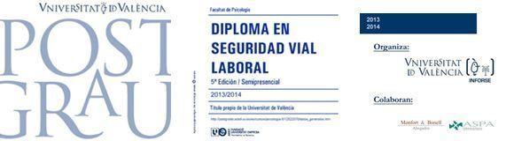 Seguridad Vial Laboral: Postgrado de la Universidad de Valencia