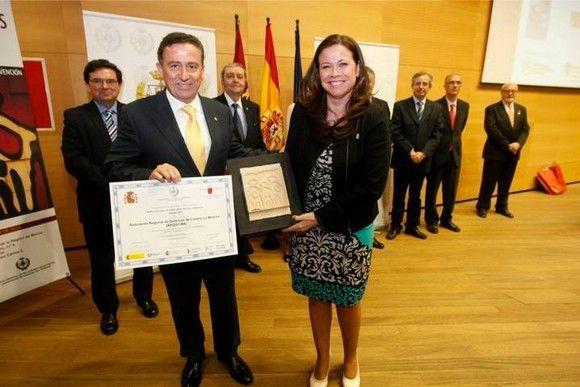 La Asociación Regional de Químicos y Profesionales de la Industria ARQUICMA recoge en Murcia el premio Prever 2013