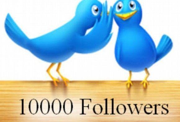10.000 followers en Twitter: 10.000 Gracias