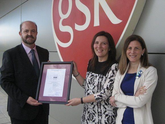 GSK, primera empresa del sector farmacéutico en España en obtener el certificado de Empresa Saludable de AENOR