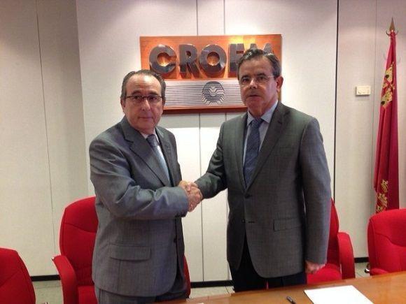 CROEM y FECOM acuerdan colaborar en prevención de riesgos laborales