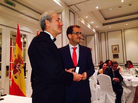 Antonio Díaz Ruiz, Subdirector promoción de la salud en correos premio Foro Europa 2001