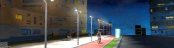 Crean un alumbrado inteligente que se gradúa en función de los peatones. ¿No es increíble?
