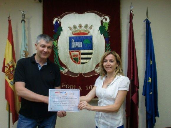 El Ayuntamiento de la Pobla del Duc distinguido por su trabajo en prevención