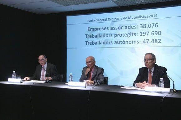 Mutua Intercomarcal genera un resultado de 13,5 millones de euros en el ejercicio 2013
