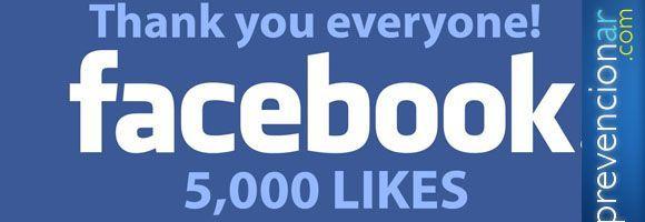 Prevencionar facebook 5.000 me gusta!!!!