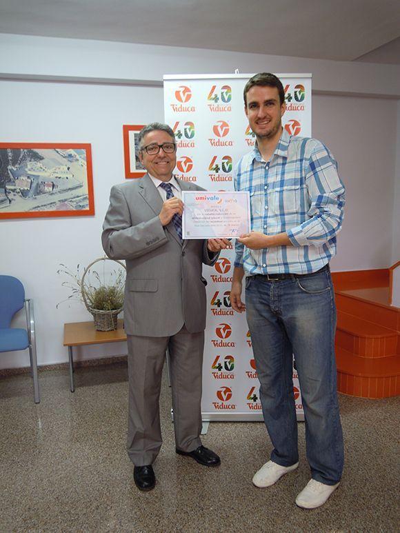 umivale premia a una empresa de Ibi y otra de Castalla por su apuesta por la prevención