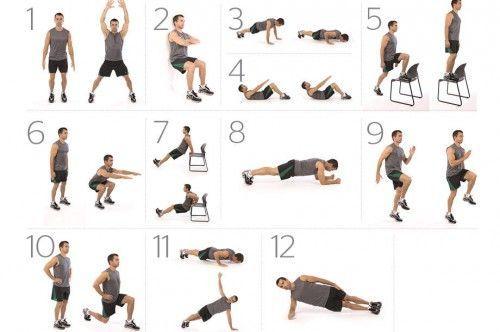 Ponte en forma con 7 minutos diarios de ejercicio