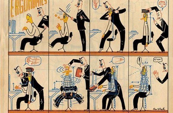 Humor: Ergonomia