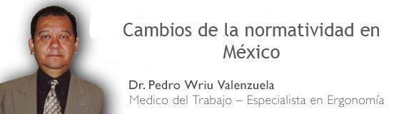 Cambios de la normatividad en #México