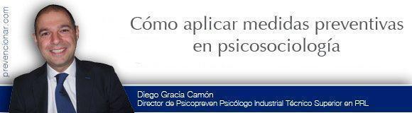 Cómo aplicar medidas preventivas en psicosociología