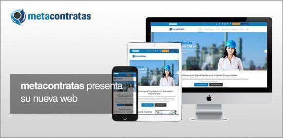 Metacontratas presenta su nueva página web