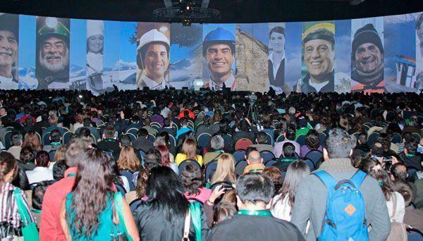 El Congreso de Prevención y salud de la ACHS reunió a más de cuatro mil asistentes