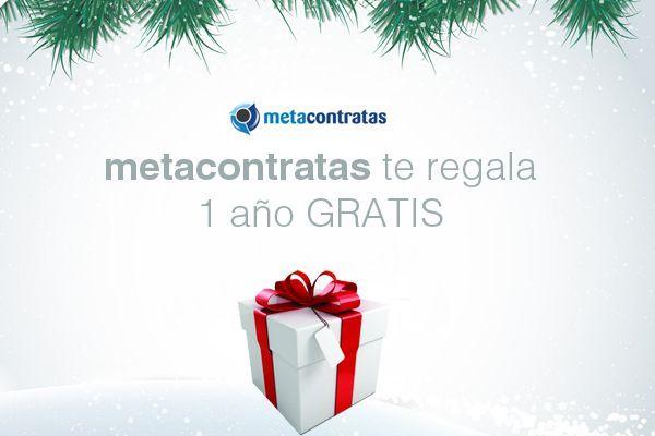 1 año GRATIS de la plataforma Metacontratas