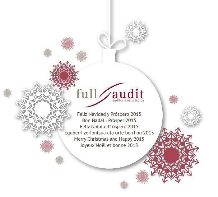 Full Audit les desea Feliz Navidad y Próspero 2015