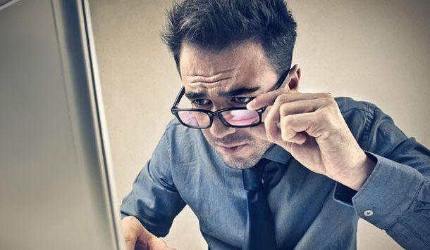 Siete de cada diez internautas sufren pérdida de visión ante el ordenador