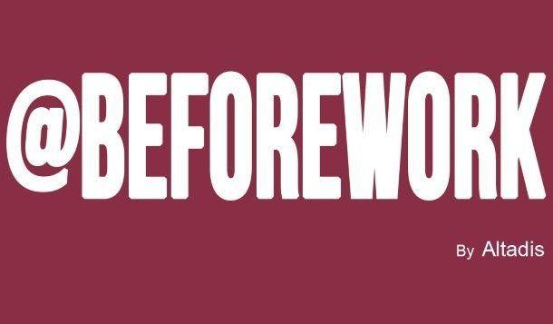 Altadis lanza @BeforeWork
