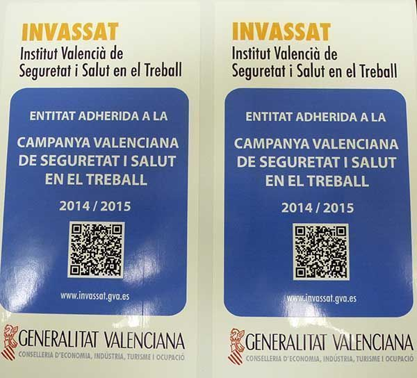 El Invassat distingue a Asepeyo  por su promoción de la cultura preventiva