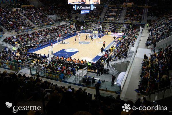 Geseme y E-coordina en la Copa del Rey de Baloncesto 2015