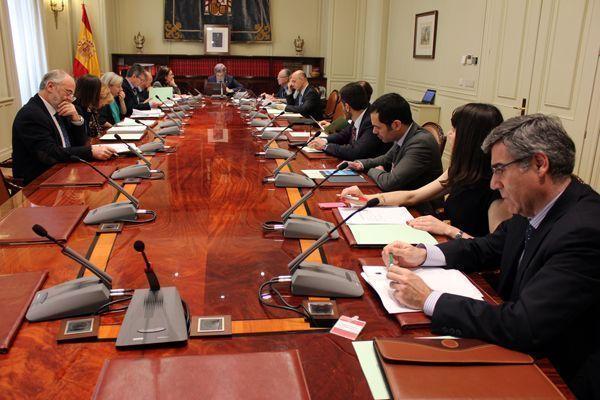 El CGPJ, el Ministerio de Justicia y las asociaciones judiciales firman el Plan de Prevención de Riesgos de la Carrera Judicial
