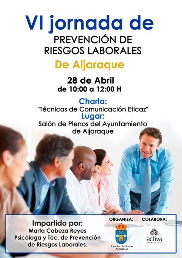 VI Jornada de Prevención de Riesgos Laborales