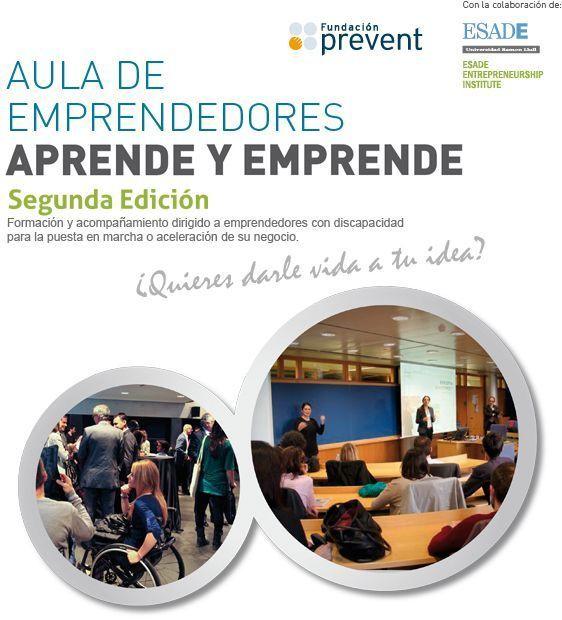 Abierta la II edición del programa Aula de Emprendedores Aprende y Emprende