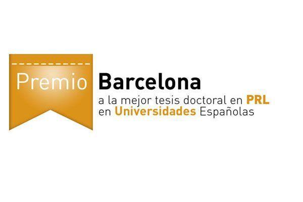 Premio Barcelona a la mejor tesis doctoral en PRL en Universidades Españolas
