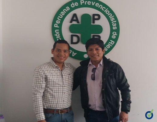 Prevencionar Perú visita la Asociación Peruana de Prevencionistas