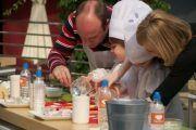 Islazul enseña a comer sano a los niños