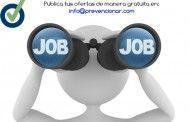 Empleo en Prevencionar: Técnico/a superior en PRL (28.000 €)