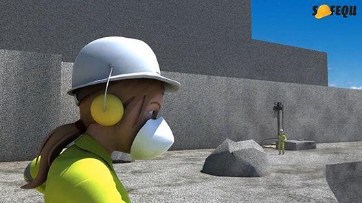 Animación: Exposición a polvo