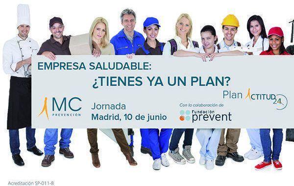 Jornada Empresa Saludable: ¿Tienes ya un plan?