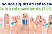 ¿Aun no nos sigues en redes sociales? Te lo estás perdiendo ¡TODO!