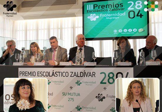 3ª edición de los Premios Escolástico Zaldivar de Fraternidad Muprespa