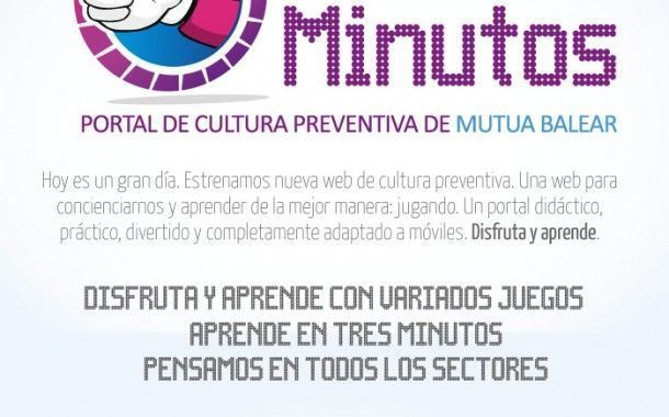 Descubre Tres Minutos, el portal de cultura preventiva