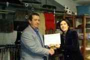Textil Casa Moda reconocida por su apuesta por la prevención