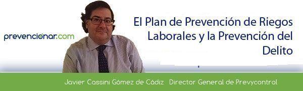 El Plan de Prevención de Riesgos Laborales y la Prevención del Delito