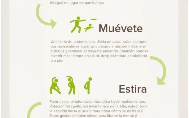 Hábitos saludables que podemos adoptar en 5 minutos