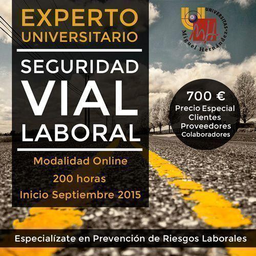 Fórmate como experto en seguridad vial laboral