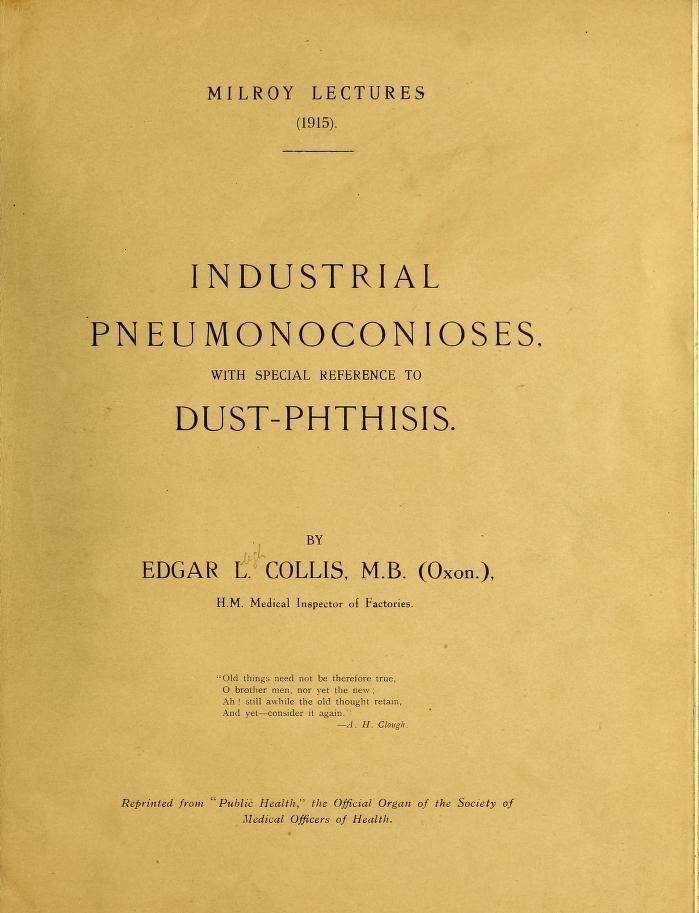La medicina del trabajo hace 100 años: