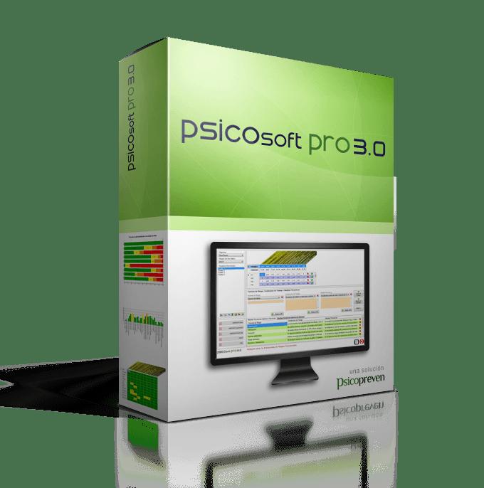 Nuevo software de Riesgos Psicosociales, Psicosoft Pro 3.0