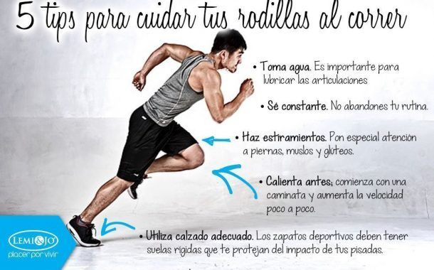 ¿ Haces running ? 5 trucos para cuidar tus rodillas