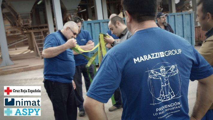 Marazzi Iberia inicia su III Quincena de la Prevención
