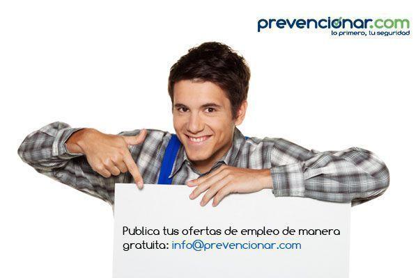 Empleo en Prevencionar: Técnico Superior en PRL #Valencia