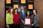 """Orange recibe el Certificado """"Empresa Saludable"""""""