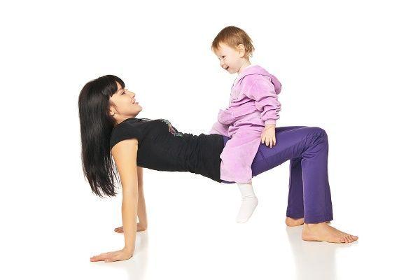 Conciliando en el gimnasio  con MamáGym