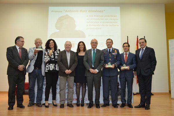 Murcia premia la innovación y el fomento de la cultura preventiva con los premios 'Antonio Ruiz Giménez'