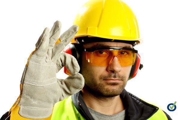 Riesgo quimico en la PYME. Proteccion ocular y facial (cartel)