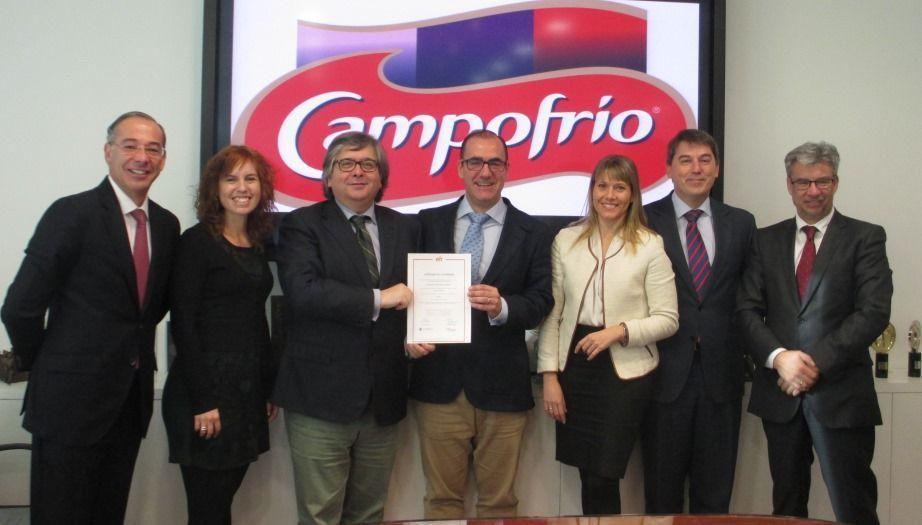 Campofrío obtiene el Certificado EFR
